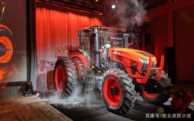 冲击大马力拖拉机--久保田Kubota发布两款M8系列车型