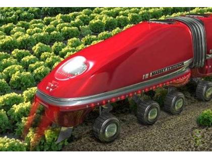 深圳盒马村的农业机器人
