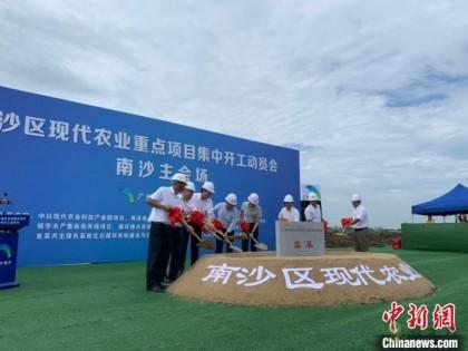 广州南沙现代农业的23个重点项目