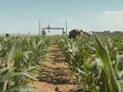 重达30吨的农业机器人