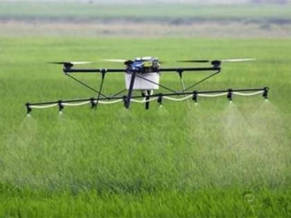 在国外大显身手的大疆农业无人机
