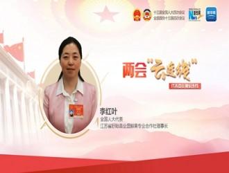 李叶红两会期间接受采访:推进现代农业高质量发展,加快推进乡村全面振兴